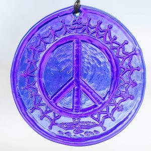 Peace disk window